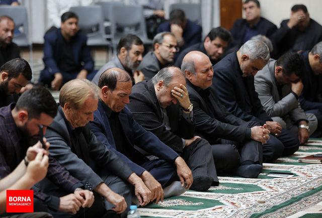 مراسم عزاداری سالار شهیدان در وزارت ورزش برگزار شد
