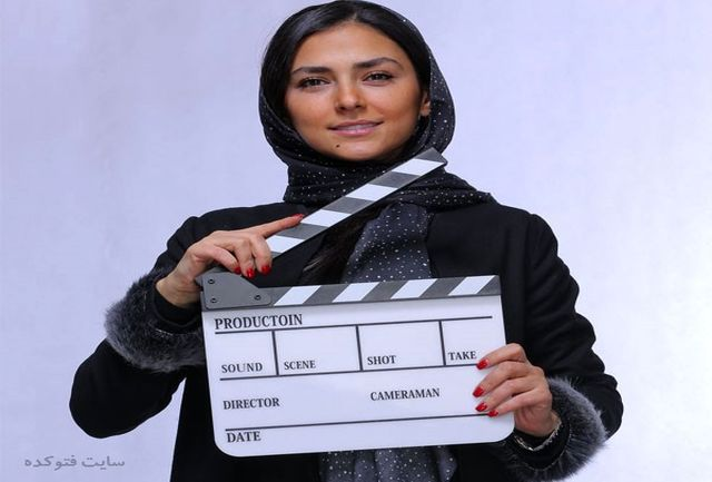 هدی زین العابدین  مقابل دوربین  «زالاوا» ایستاد
