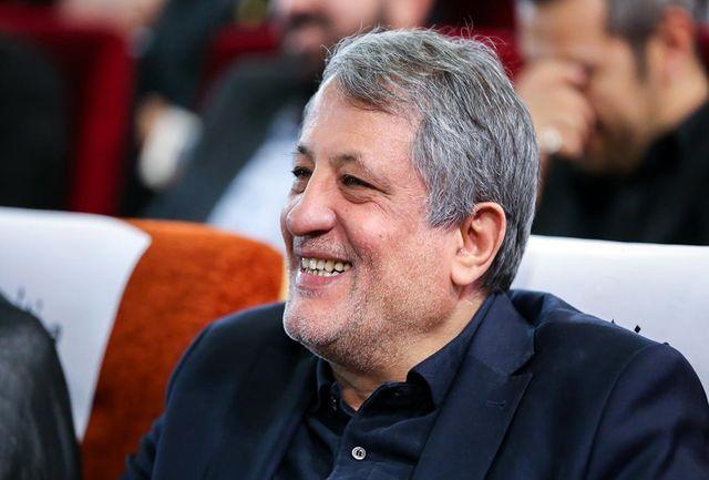رئیس شورای شهر تهران به دفتر ریاست جمهوری رفت