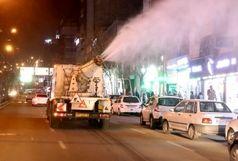 ضدعفونی معابر پرتردد کرج /بوستان های بزرگ شهر تعطیل شد