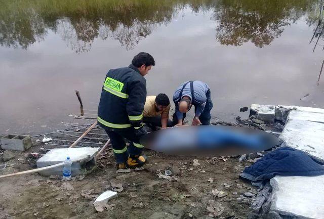 مرگ ماهیگیر جوان به علت ریزش دیوار بتنی