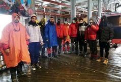 گم شدن یک گروه کوهنورد در توچال/ تمامی پنج نفر در سلامت هستند