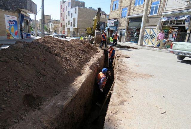 اجرای بیش از ۸ کیلومتر شبکه جمع آوری فاضلاب شهری در ملارد