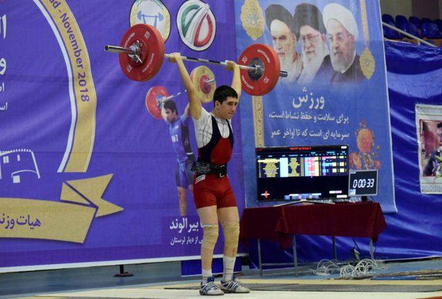 همدان در تیم ملی وزنه برداری صاحب نماینده شد