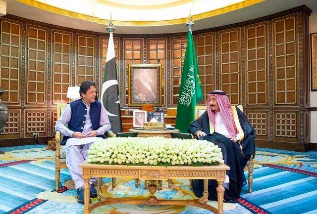 نخست وزیر پاکستان با پادشاه و ولیعهد سعودی دیدار و گفت وگو کرد
