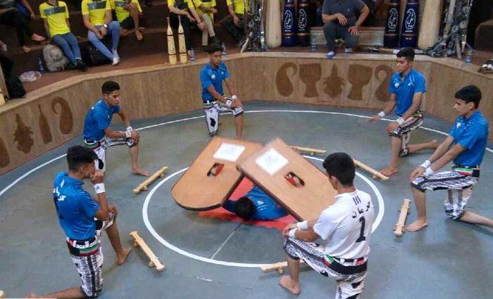 پایان رقابت های پهلوانی و زورخانه ای قهرمانی منطقه ٢ کشور با افتخارآفرینی یزدی ها