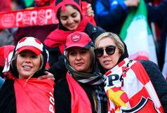 لحظه تاریخی پرواز دختران پرسپولیسی در آزادی/ ببینید