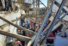آخرین جزئیات حادثه ریزش ساختمان در خرم آباد/آواربرداری ادامه دارد