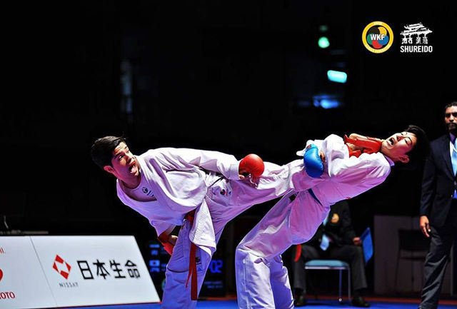 """مدال برنز کاراته کای قزوینی در سرزمین """"سامورایی ها"""""""