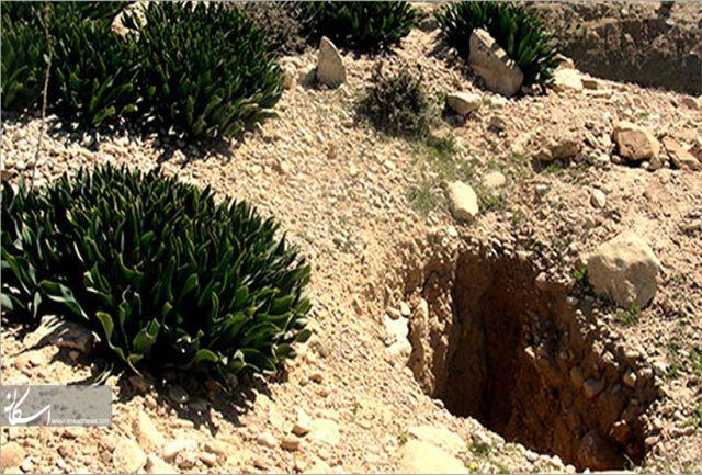 دستگیری حفار غیرمجاز در ایلام