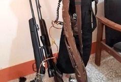 شکارچیان متخلف در ایرانشهر دستگیر شدند