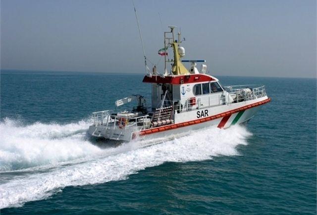 نجات 6 سرنشین شناور باری درخلیج فارس