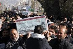 دو شهید گمنام دفاع مقدس در زاهدان تشییع و تدفین شد
