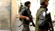 یورش نظامیان صهیونیست  ده زخمی بر جای گذاشت