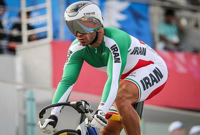 مرحله دوم لیگ برتر دوچرخه سواری پیست برگزار شد