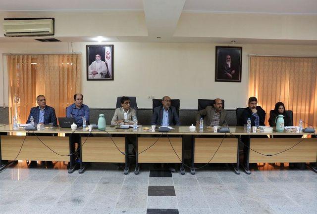برگزاری جلسه کارگروه تخصصی پدافند غیرعامل راه و شهرسازی استان