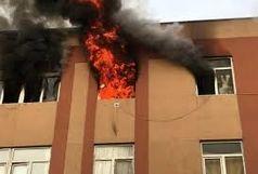نجات ۳۰ شهروند در حادثه آتش سوزی مجتمع مسکونی کوی ملت