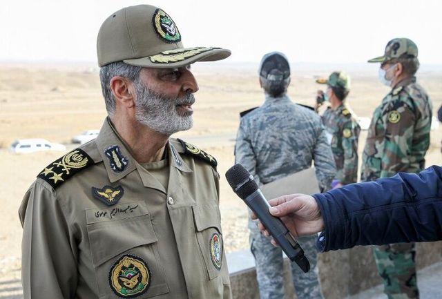 برگزاری تمرین بزرگ رزم پهپادی ارتش هشداری به دشمنان است