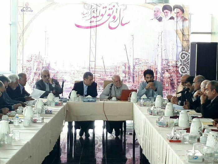 پیگیری طرح های توسعه ای منطقه ویژه پارس در عسلویه