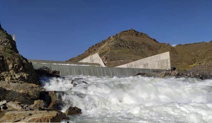 سد خیرآباد نیکشهر سرریز کرد