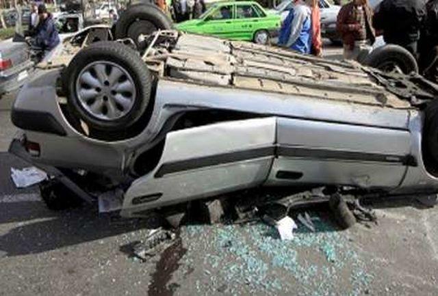 12 مصدوم و فوتی در حادثه محور رابر-جیرفت