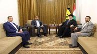 دیدار سید حسن نصرالله با هیئت انصارالله یمن