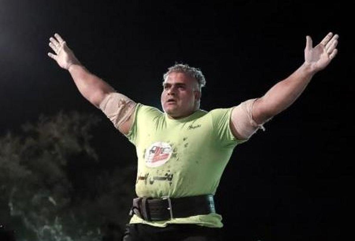 قویترین مرد استان سیستان و بلوچستان در راه مسابقات بین المللی امارات