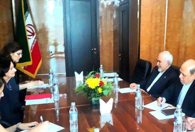 معاون سیاسی دبیرکل سازمان ملل با ظریف دیدار کرد