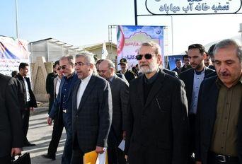 افتتاح نیروگاه برق آبی سردشت و تصفیه خانه آب مهاباد