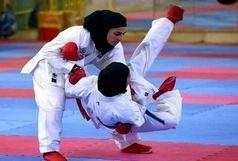 حضور چهار گیلانی در مسابقات لیگ جهانی کاراته در امارات