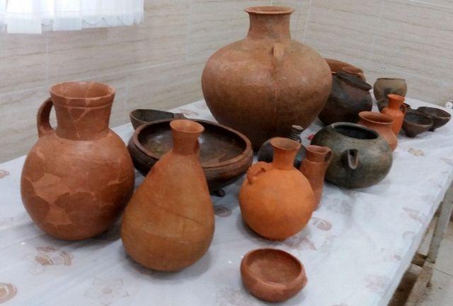 مرمت 45 قلم از سفال های تاریخی استان گیلان