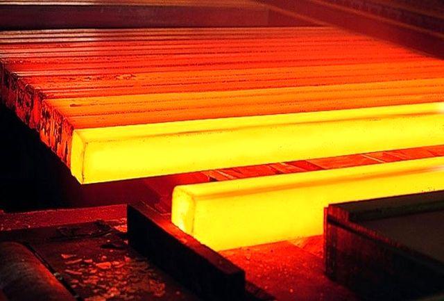صادرات شمش فولادی ۱۳۵ درصد رشد یافت