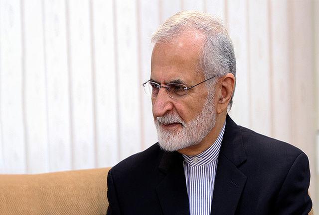 ایران، متحد مقابل فشارهای آمریکا ایستاده است