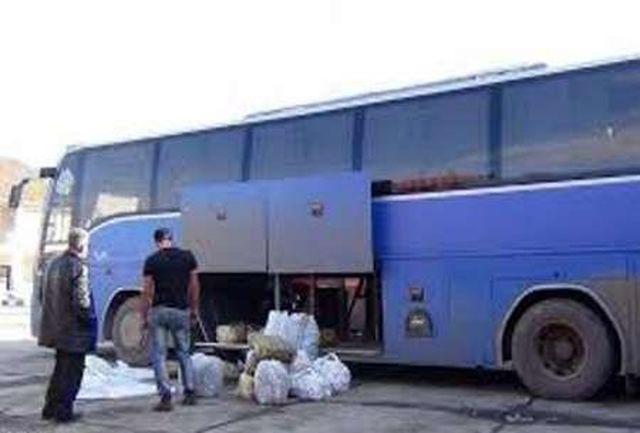 انتقال90درصد کالاهای قاچاق از طریق اتوبوس به استان