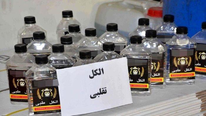 پلمب یک واحد غیرمجاز بسته بندی الکل در گیلان