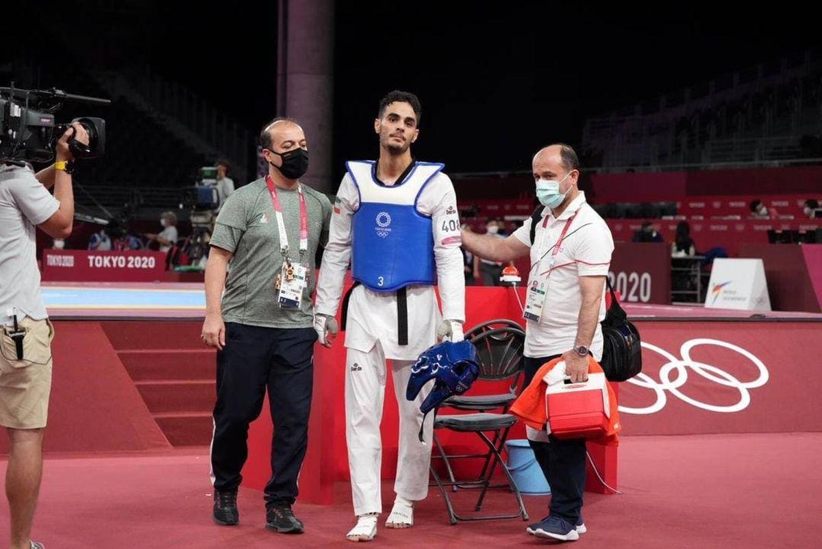 حسینی از دور مسابقات کنار رفت