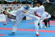 لیگ سبکهای آزاد کاراته امروز برگزار شد