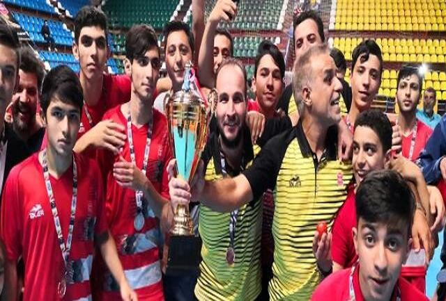 جوانان گیتی پسند نایب قهرمان لیگ برتر شدند