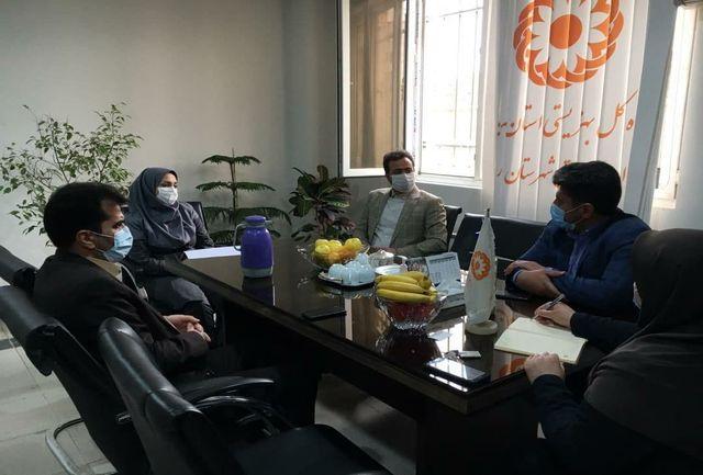 بازدید رئیس شورای شهر از اداره بهزیستی شهرستان ملارد