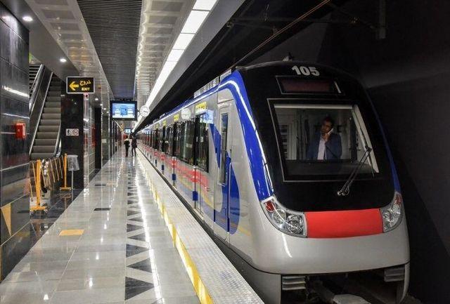 خروج قطار شهری تبریز از ریل