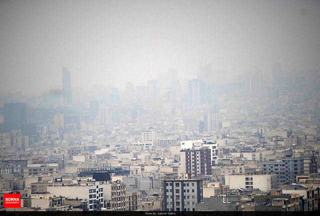 کیفیت هوای تهران در وضعیت ناسالم است