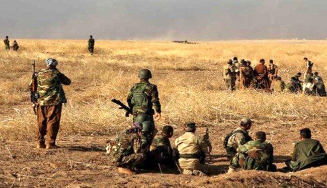 حملۀ پیشمرگه به داعش در پادگان بعشیقه/ ببینید