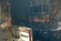 آتش سوزی در خوابگاه دخترانه اهواز