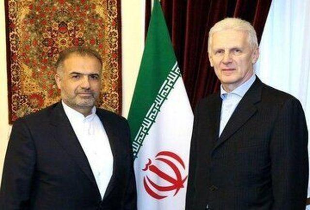 بررسی همکاریهای علمی در دیدار سفیر ایران با دستیار ویژه رئیسجمهور روسیه