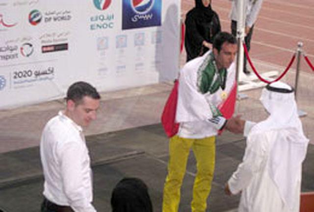 پرچم سه رنگ کشورمان با کسب دو نشان طلا و یک نقره توسط ملی پوشان زنجانی در امارات به اهتزاز درآمد