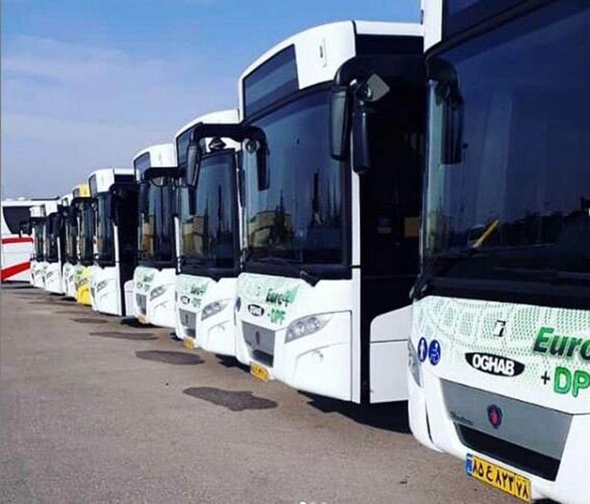 50 اتوبوس جدید به ناوگان عمومی کرج اضافه میشود