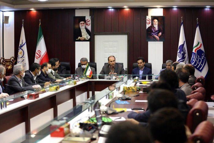 نشست هم اندیشی دفاتر هواپیمایی کشور در فرودگاه بین المللی پیام برگزار شد
