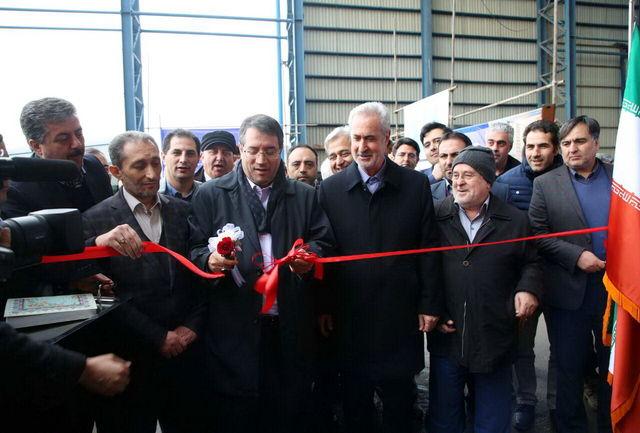افتتاح کارخانه ذوب نورد با ظرفیت تولید240هزارتن شمش فولادی