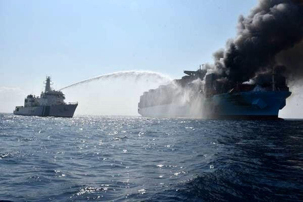 کشتی رژیم صهیونیستی در اقیانوس هند مورد حمله قرار گرفت