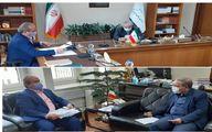 رییس دانشگاه علوم پزشکی گیلان با رئیس سازمان برنامه و بودجه کشور دیدار کرد
